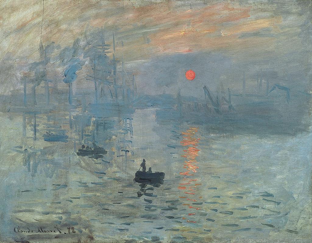Monet - 1872 Impresión, salida del sol