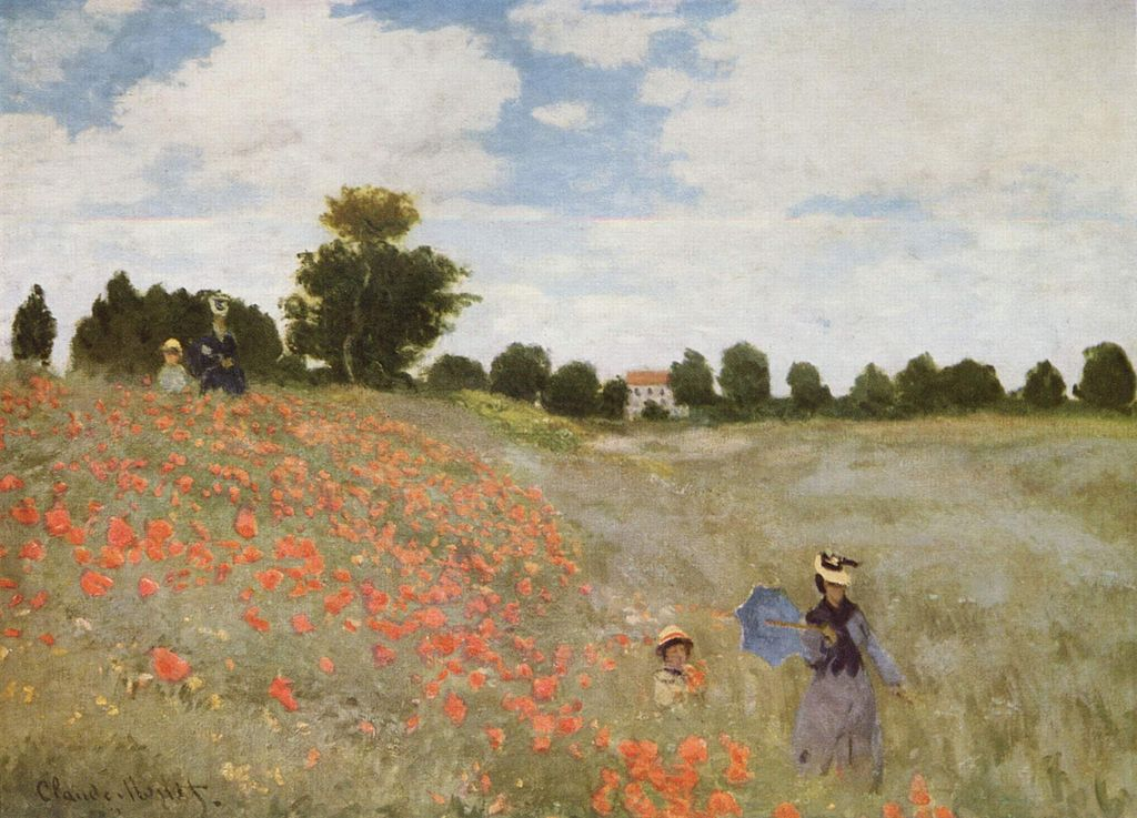 Monet - 1873 Las amapolas