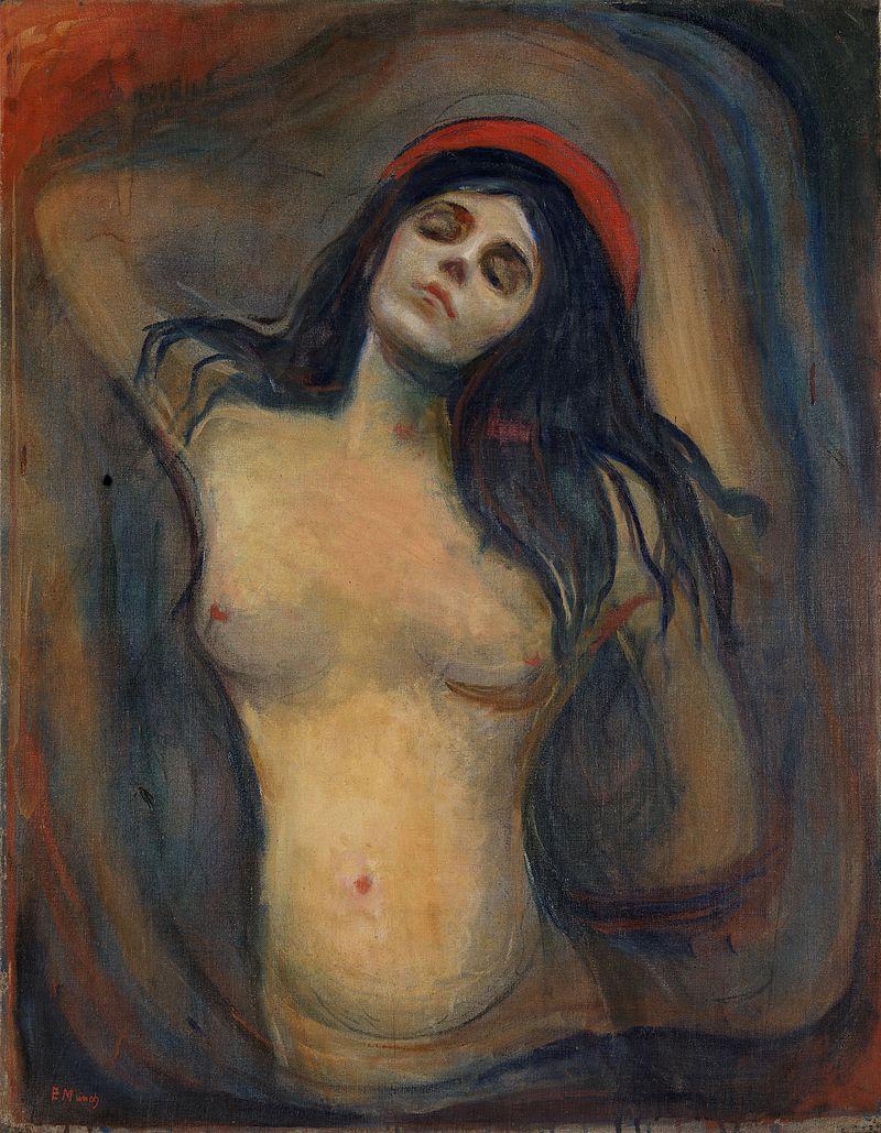 Munch - 1894-1895 Madonna