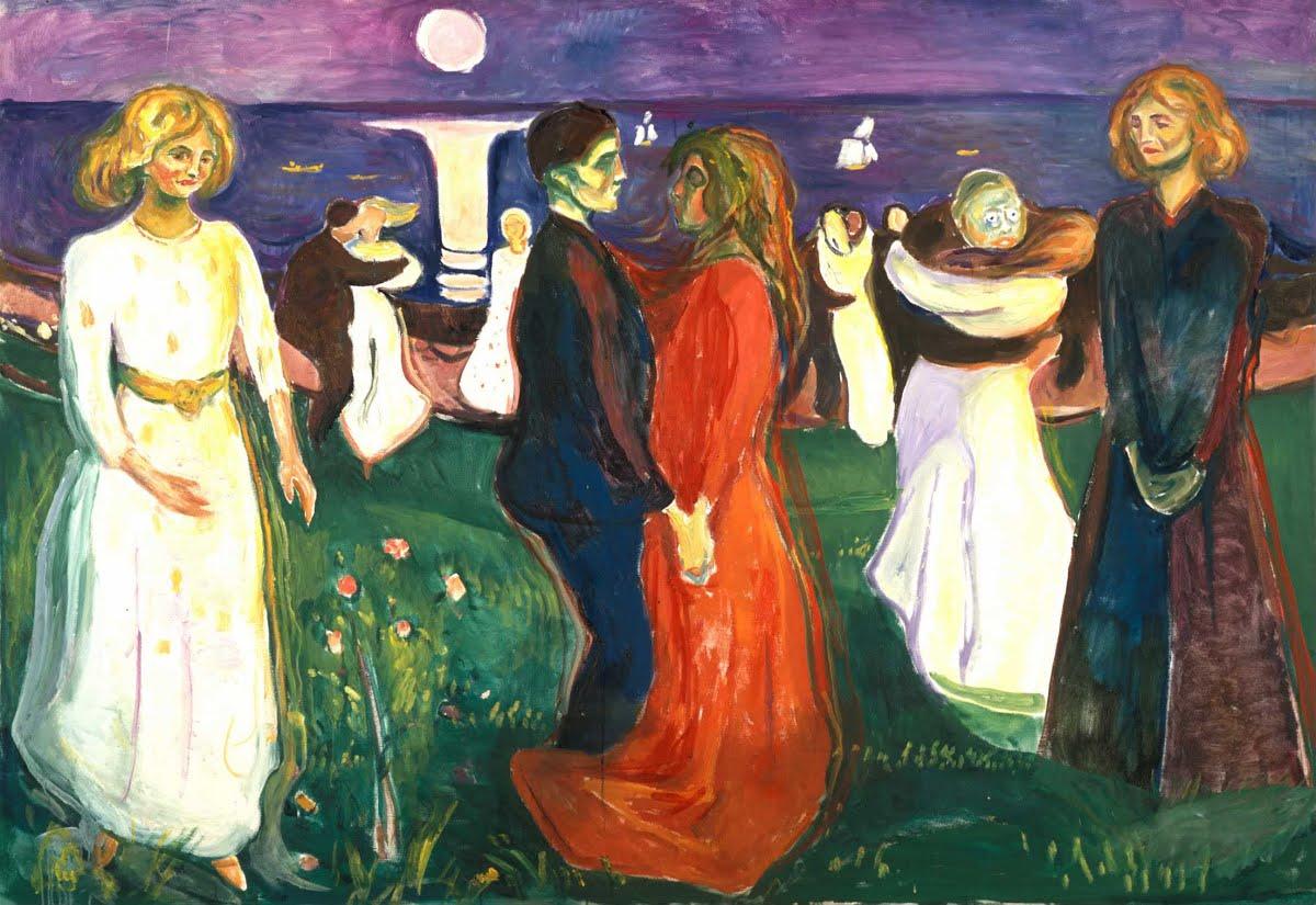 Munch - 1899-1900 La danza de la vida