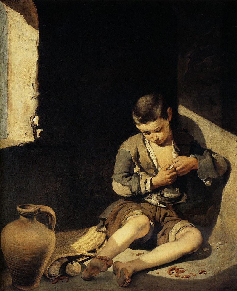 Murillo - 1645-1650 Joven mendigo