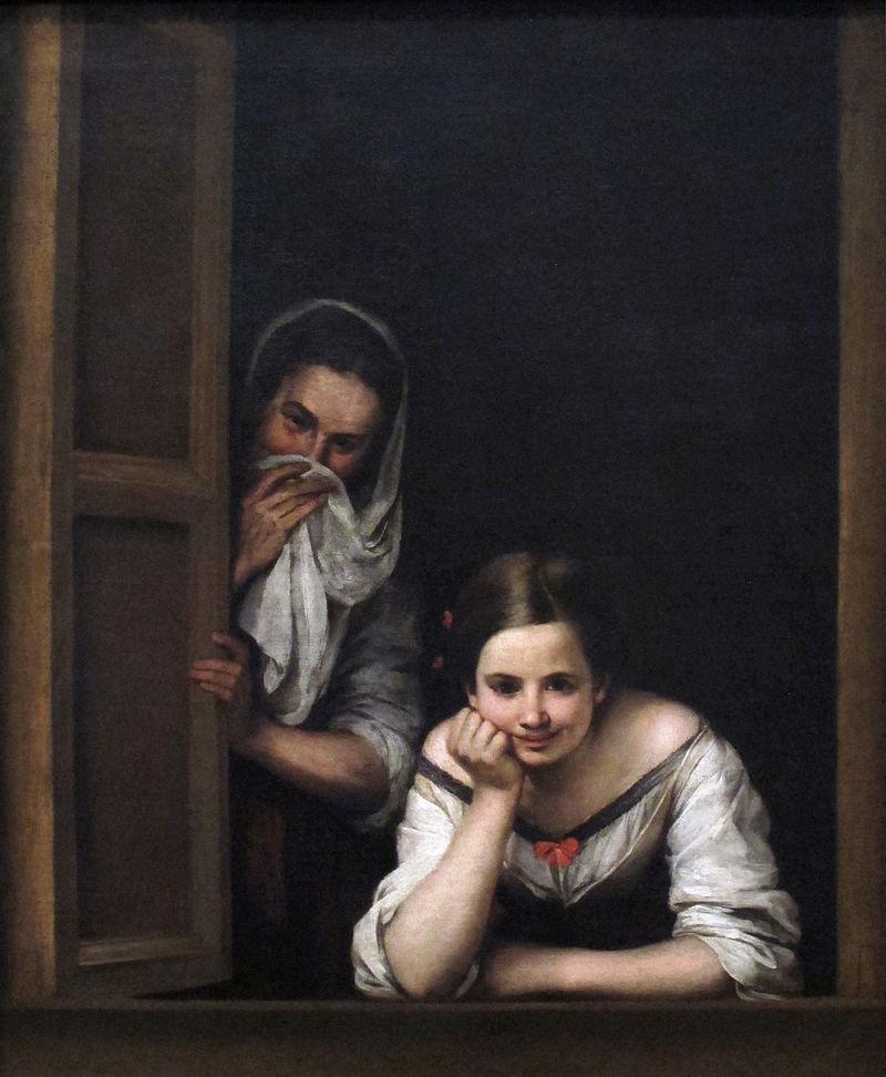 Murillo - 1665-1675 Mujeres en la ventana