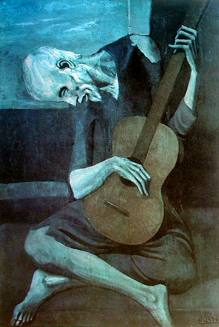 Picasso - 1904 El viejo guitarrista ciego