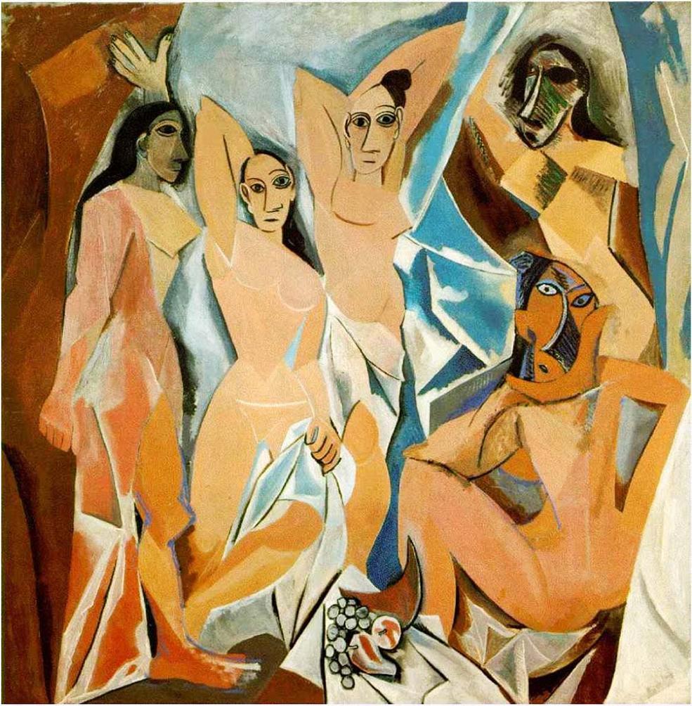 Picasso - 1907 Las señoritas de Avignon