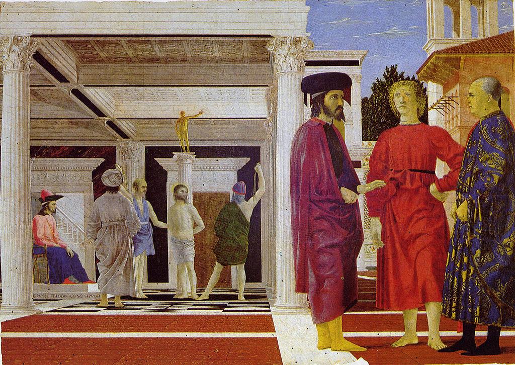 Piero Della Francesca - 1455-1460 La flagelación