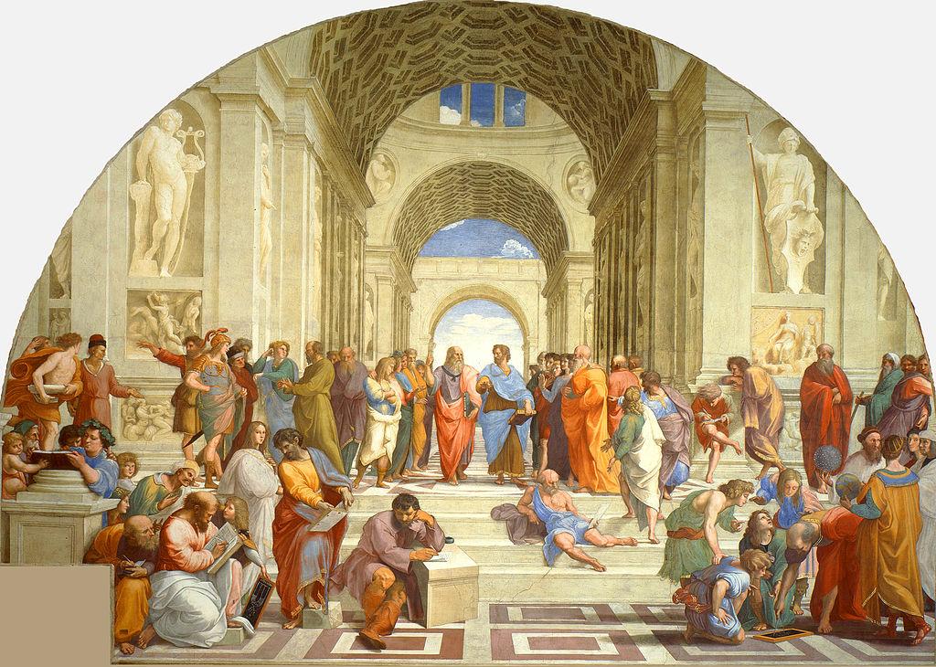 Rafael - 1509 La escuela de Atenas