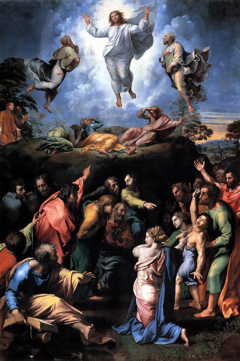 Rafael - 1518-1520 La transfiguración