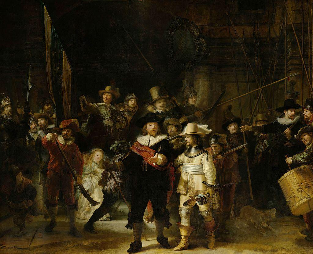 Rembrandt - 1642 La ronda de noche