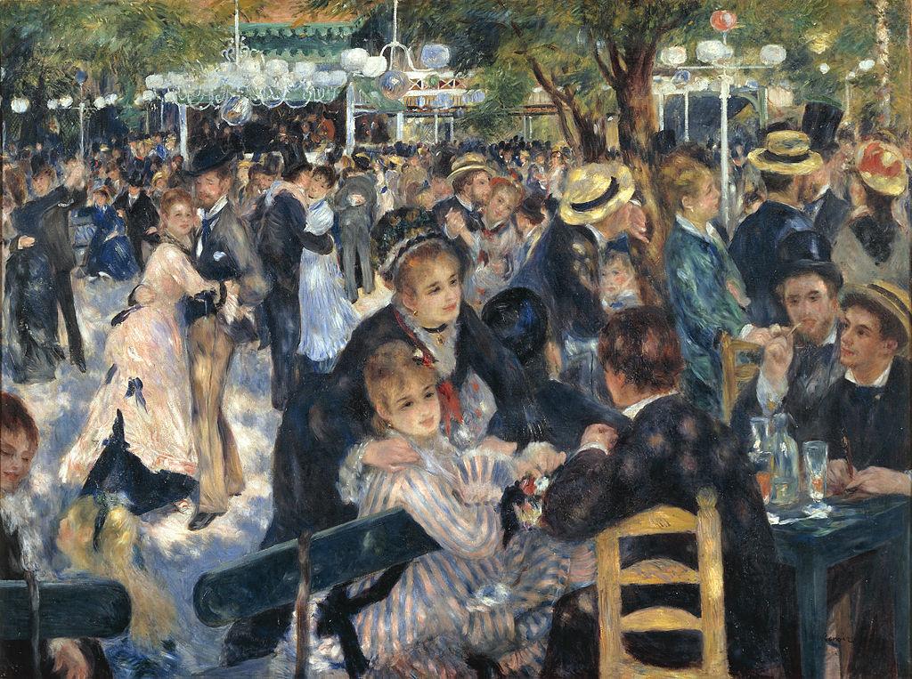 Renoir - 1876 Baile en el Moulin de la Galette