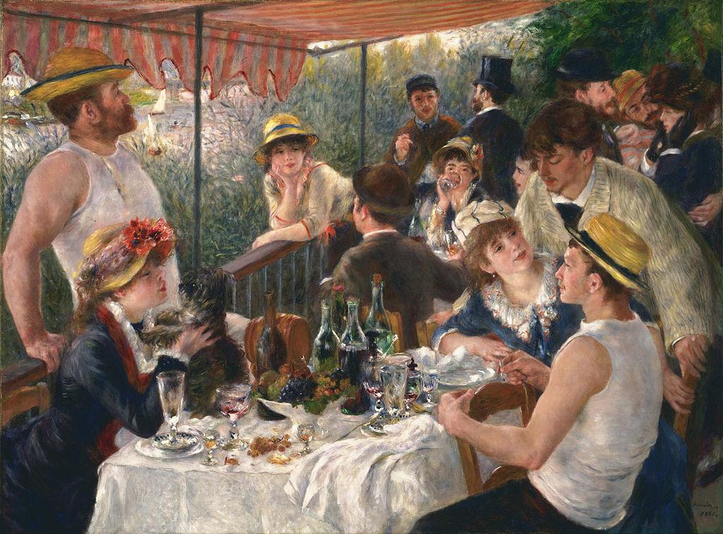 Renoir - 1880-1882 El almuerzo de los canotiers