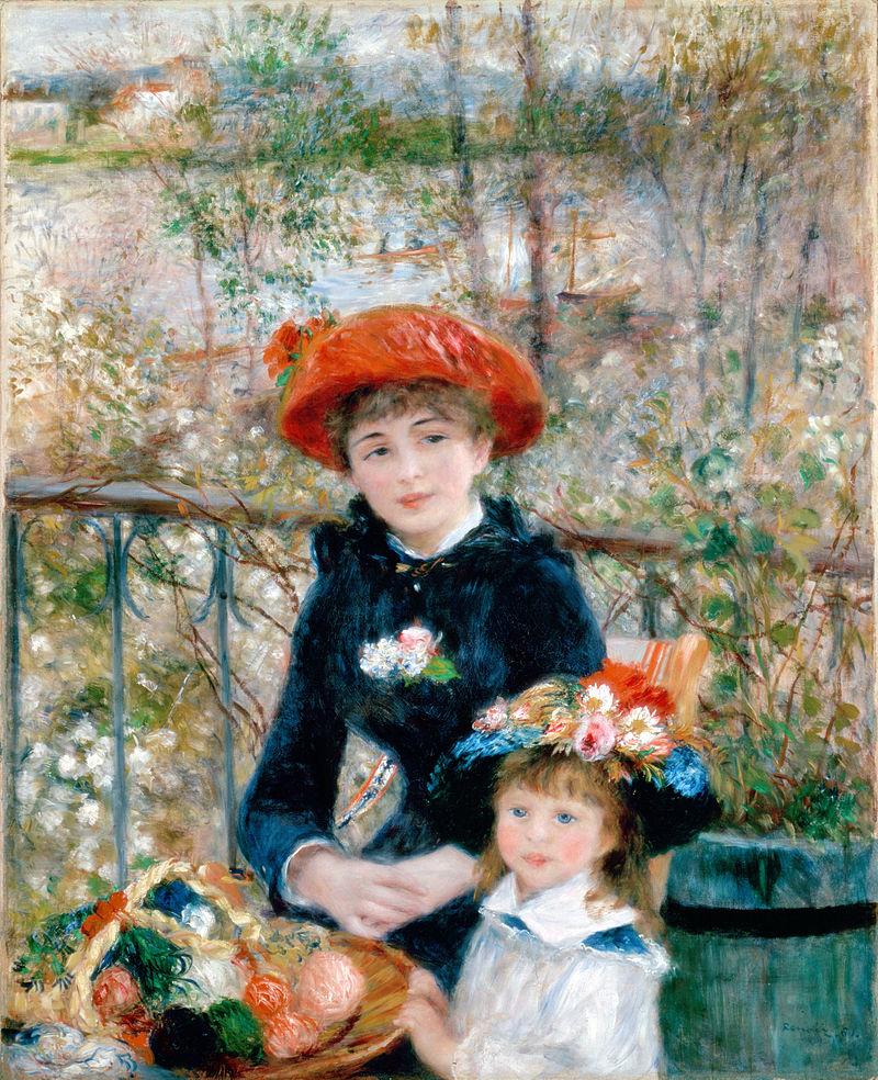 Renoir - 1881 En la terraza