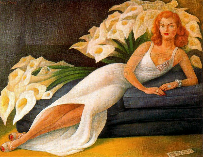 Rivera - 1943 Retrato de Natasha Zakólkowa Gelman