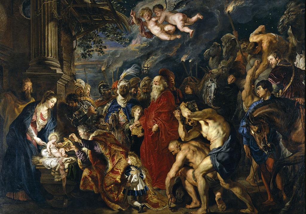 Rubens - 1609 Adoración de los Reyes Magos