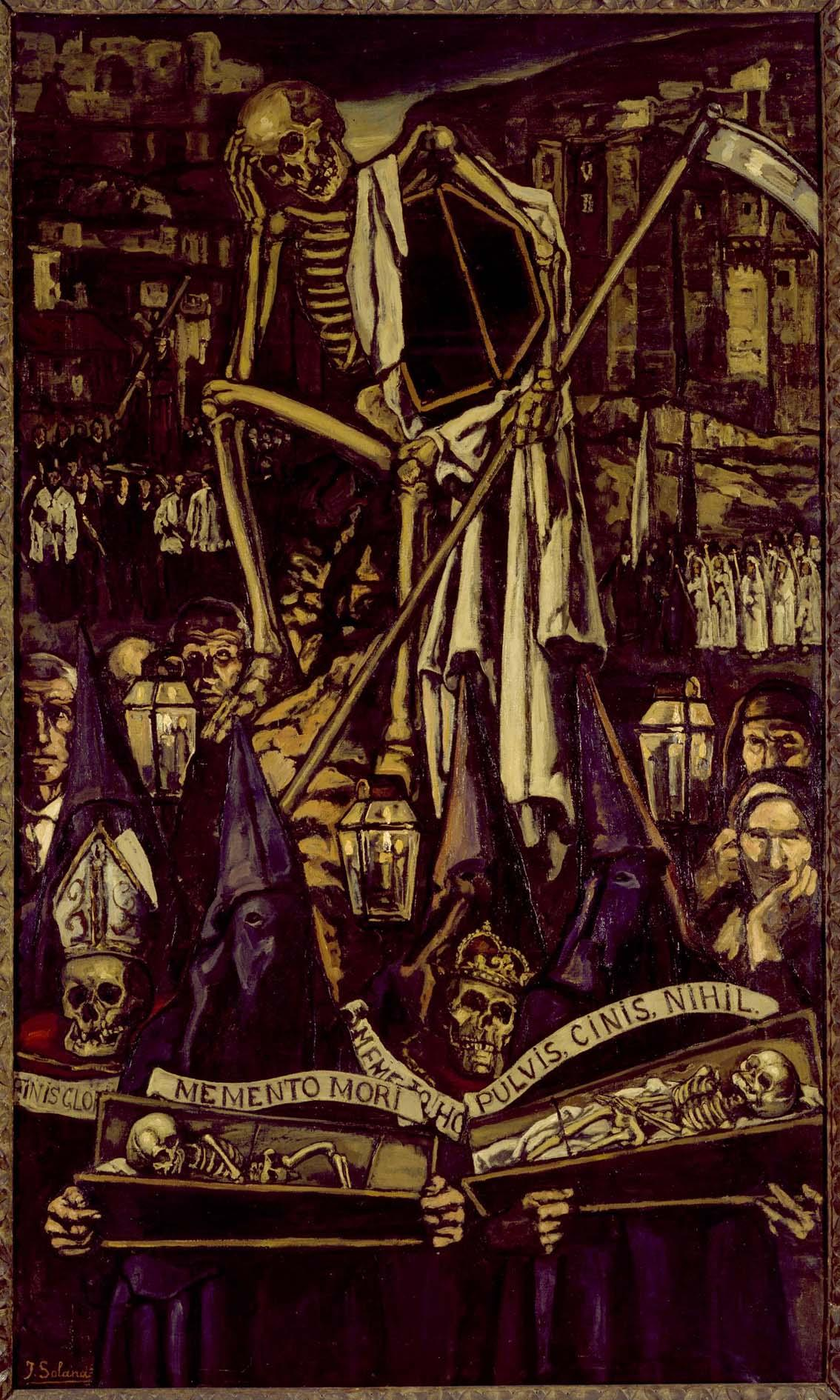 Solana - 1930 La procesión de la muerte