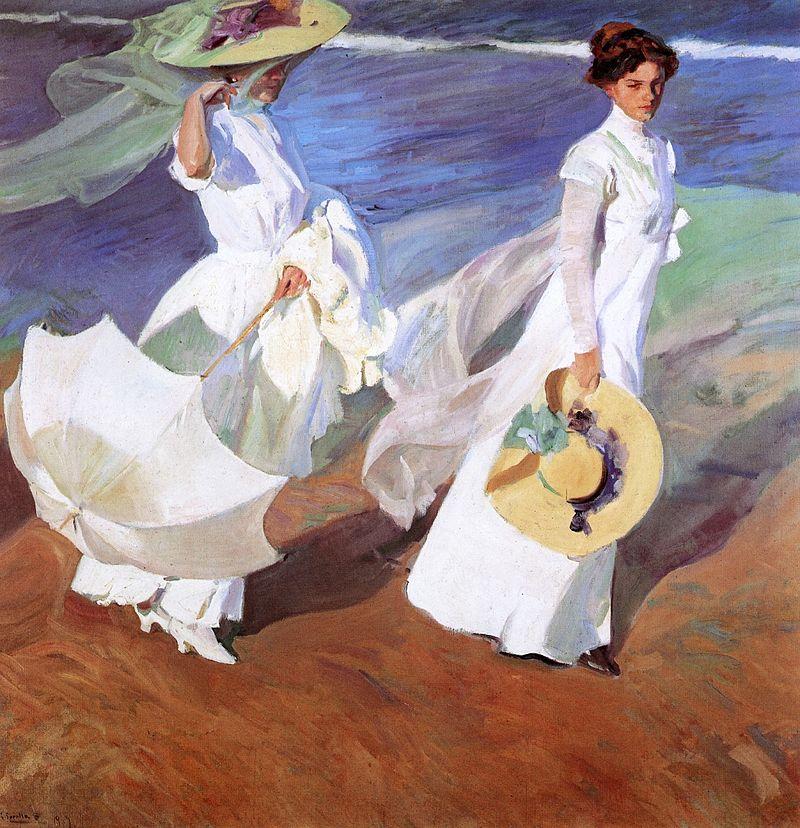 Sorolla - 1909 Paseo a orillas del mar