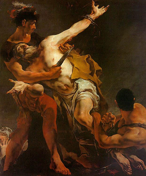 Tiépolo - 1722 El martirio de San Bartolomé