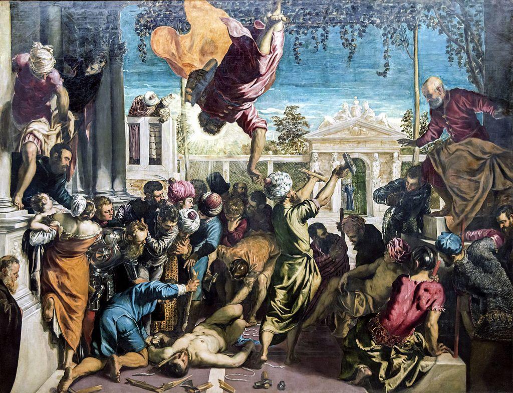 Tintoretto - 1548 San Marcos liberando al esclavo