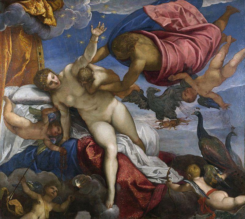 Tintoretto - 1575 El origen de la Vía Láctea