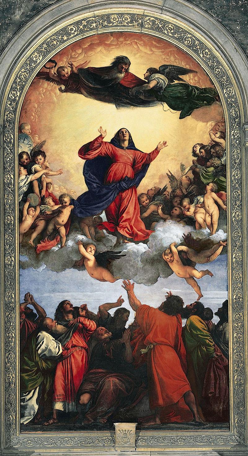 Tiziano - 1516-1518 La Asunción de la Virgen