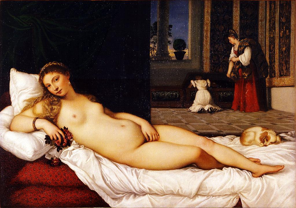 Tiziano - 1538 Venus de Urbino