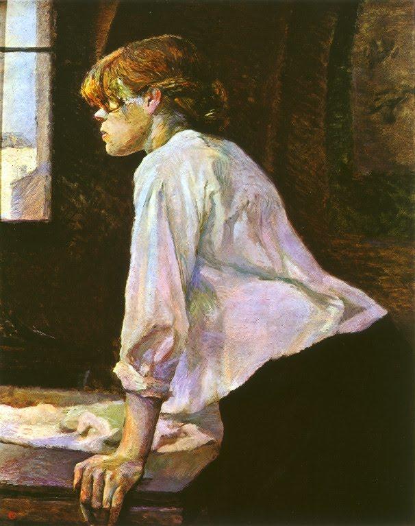 Toulouse-Lautrec - 1886 La lavandera