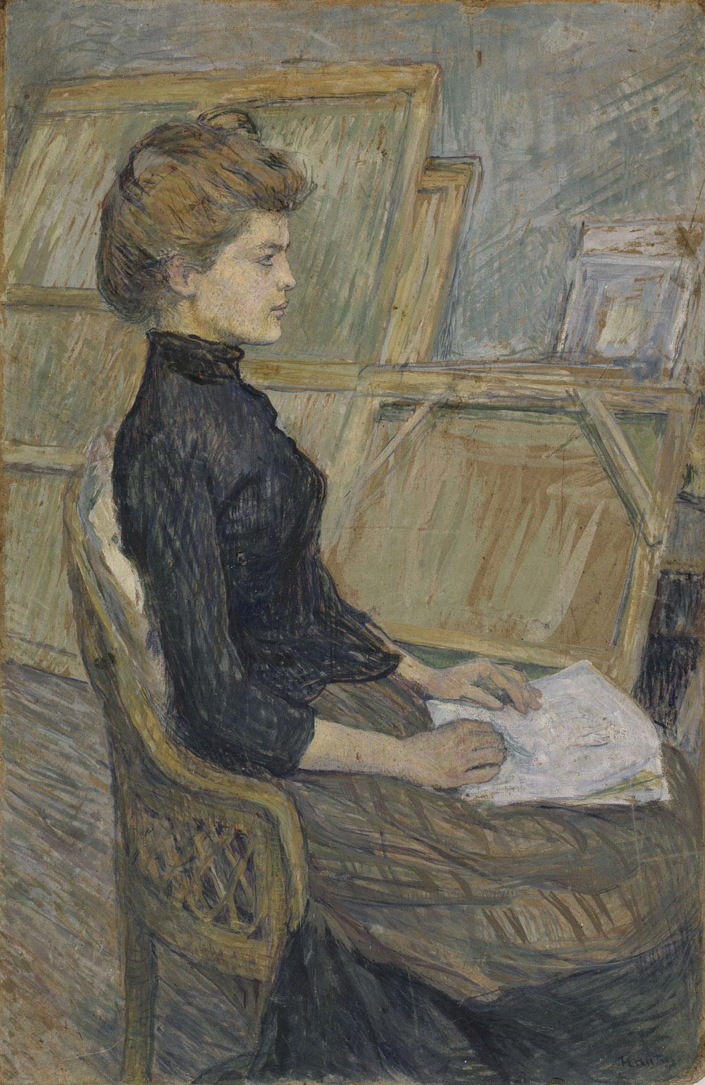 Toulouse-Lautrec - 1889 Helene Vary