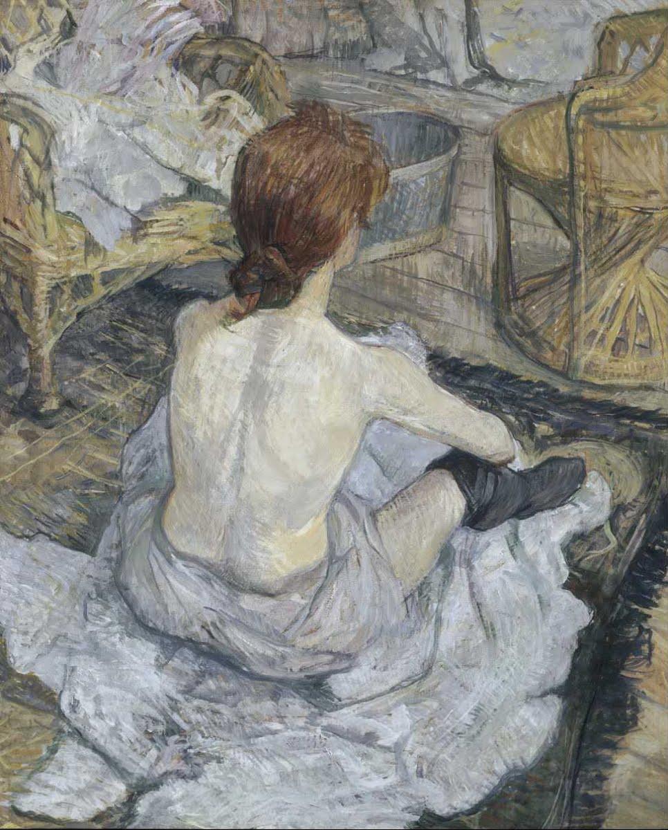 Toulouse-Lautrec - 1889 La toilette