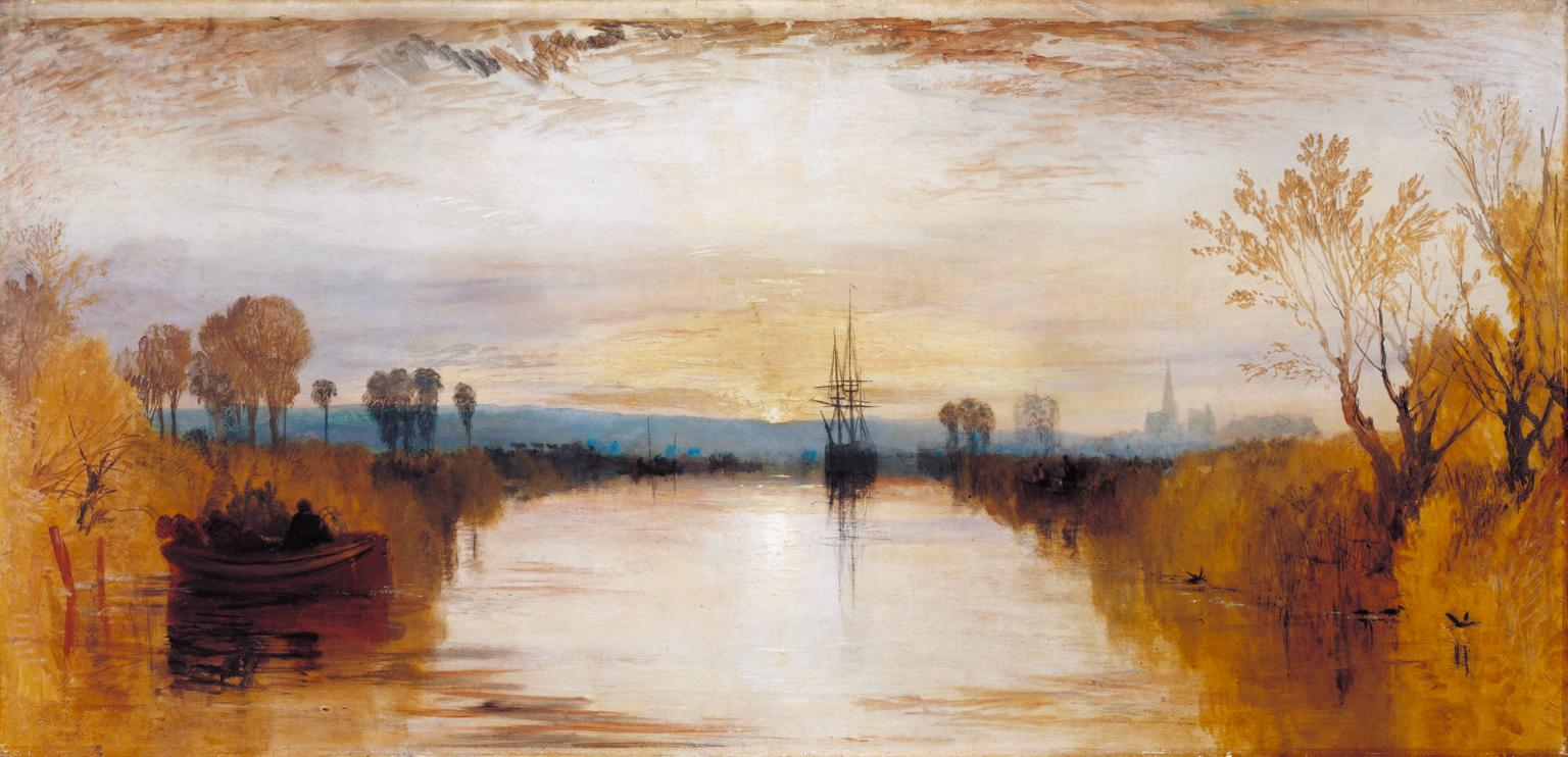 Chichester Canal c.1828 by Joseph Mallord William Turner 1775-1851