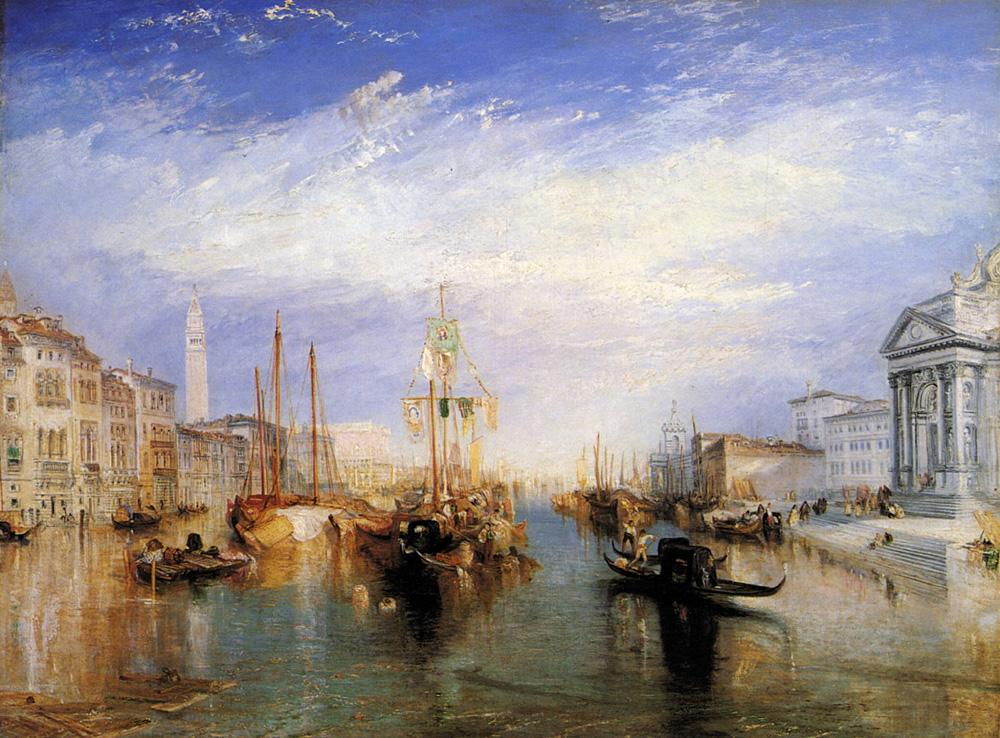 Turner - 1835 Venecia, El Gran Canal