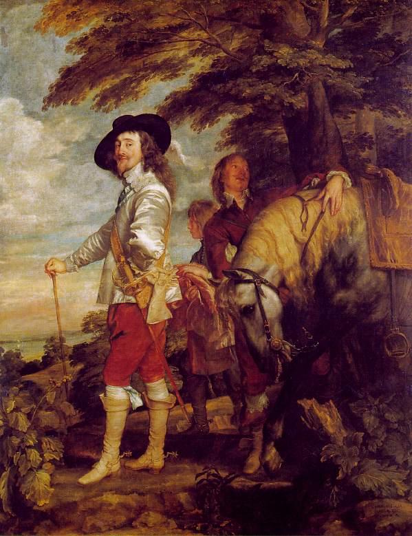 Van Dyck - 1635 Carlos I de Inglaterra