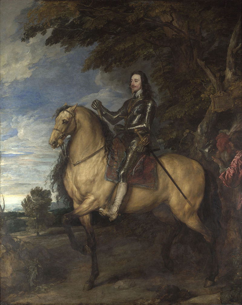 Van Dyck - 1637 Carlos I a caballo