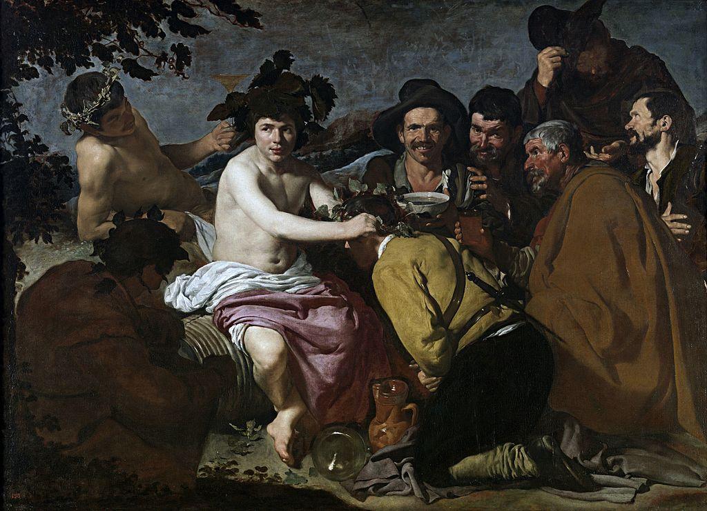 Velázquez - 1628-1629 El triunfo de Baco o Los borrachos