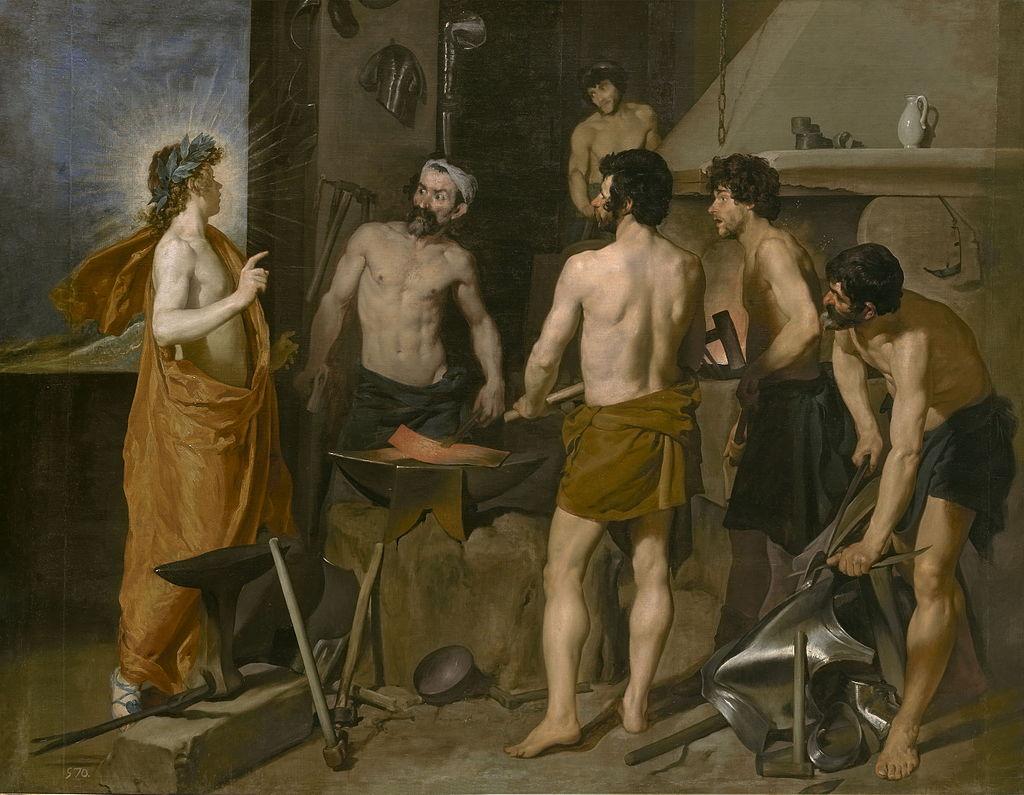 Velázquez - 1630 La fragua de Vulcano