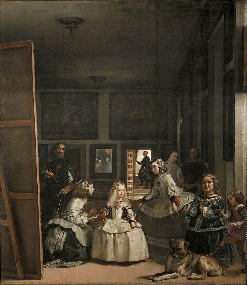 Velázquez - 1656-1657 Las meninas (La familia de Felipe IV)
