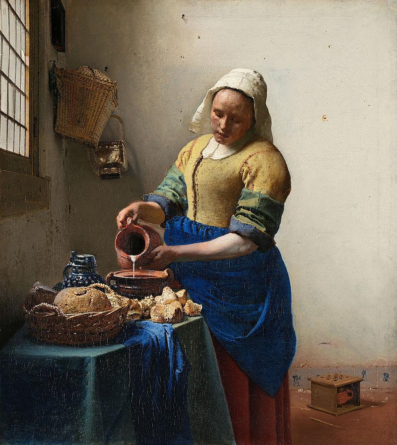 Vermeer - 1660-1661 La lechera